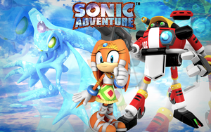 Sonic Adventure Chaos.Tikal.Gamma Wallpaper by Nibroc-Rock