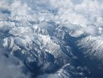 Rocky Mountains, Aerial View by Duches77