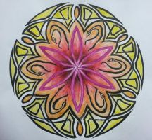 my Mandala by DesignKReations