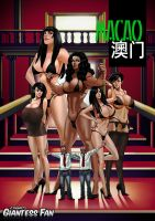 Macao Comic Book - mini giantess, sex by giantess-fan-comics
