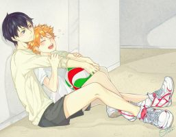 HQ - KageHina by XOtakumiX
