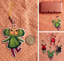 Katamari Keychains by Tiny-Owl