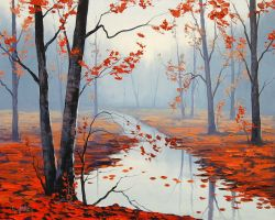 Calm Autumn DAY by artsaus