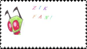 Zik fan stamp! by CupcakesSing
