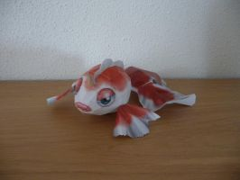 goldeen papercraft by dodoman75