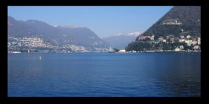Lake of Como -3- by xAkyx