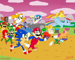 Everyone do the race wub! by Mighty355