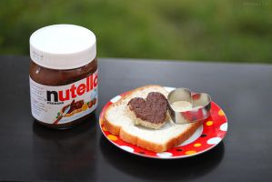 nutella-- by M-E-S-H-O