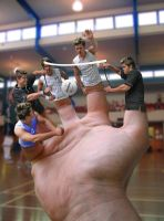 Puppets volley-ball by LukasHejc