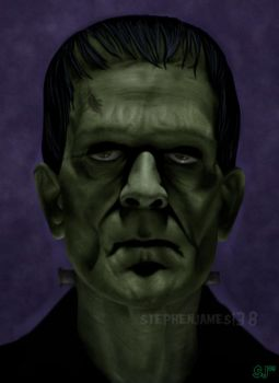 Frankenstein's Monster by StephenJames138