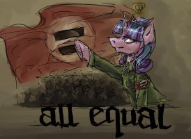 All Equal! by Alliecorn