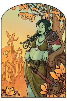Orc Nouveau III by ursulav