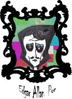 The immortal Edgar Allan Poe (A gift for Poctoria) by Bioteknos