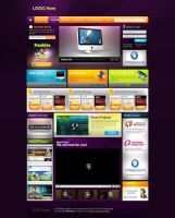 Web Graphic Layout by Nas-wd