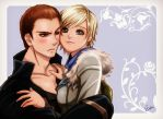 Jake X Sherry by Esther-fan-world