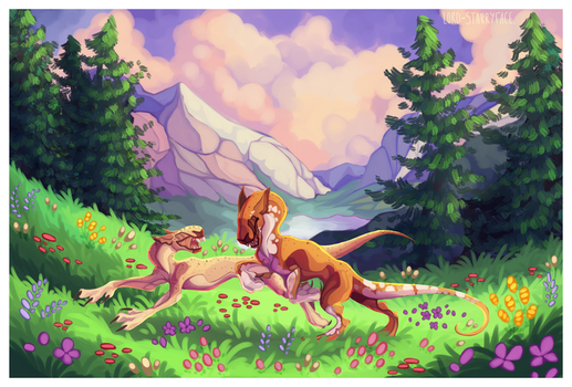 .: ~ off a frolicking we go! ~ :. by Lord-StarryFace