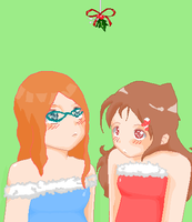 Christmas Collab: Oh boy... by waterfish5678901