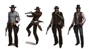 Six Guns MC outfit variants by texahol