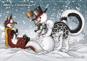 Snowy Merry Christmas by TaniDaReal