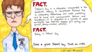A Schrute Father's Day by HannerBananer