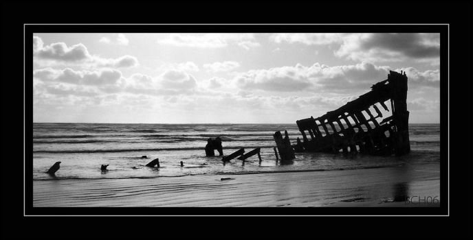 The Peter Iredale by elegaer-again