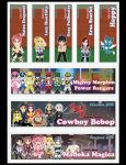 November Chibi Bookmarks by DannimonDesigns