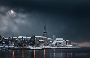 Porec In Snow by r-maric