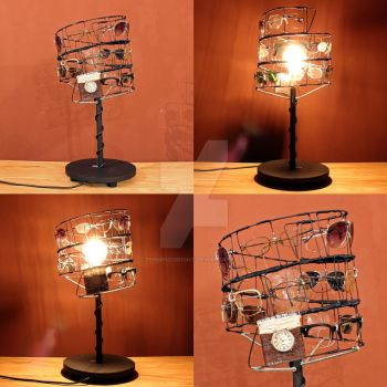 Eyeglasses Lamp by themindisright