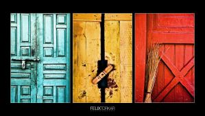 Three Doors by FelixTo