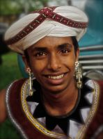 Kandyan Dancer. Sri Lanka. by jennystokes