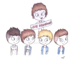One Direction! by Lovely-Tsandy