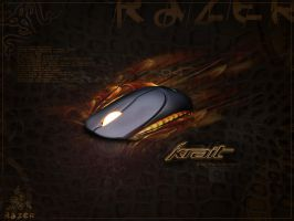 Razer Krait Wallpaper by thekellz