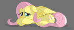 Fluttershy Vent Drawing by SketchCoyote