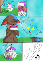 happy birthday rain -comic- by TribalTripleN