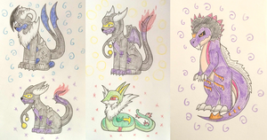 PKMNation:: Dogs and Reptiles Evolving! by Dianamond