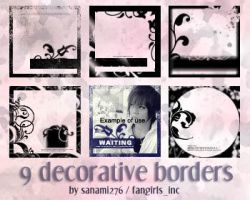 Decorative borders PS by Sanami276