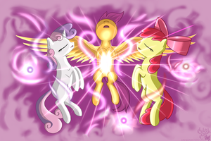 The Cutie Mark Crusaders Find Their Destiny by SolarSpark