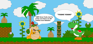 Baby Bowser ate Yoshi's Cookies by Bowser14456