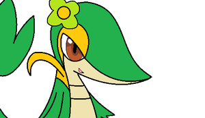 Alia the Snivy by PenelopeHamuChan