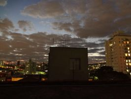 The Highest Window Of The Small Building by Falcoliveira