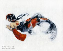 The Mermaid Manual: Koi by SBuzzard