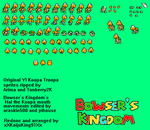 Hal the Koopa sprite sheet by KingAsylus91