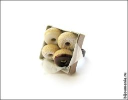 "Ring ""Doughnuts"" by allim-lip"