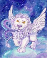 Starry Lion by Starrydance