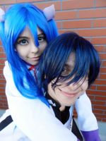 Blue Hair! xD by HinaCrimson
