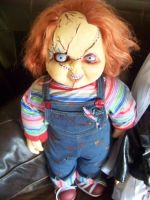 My Custom Painted Chucky Doll by Garrett7392
