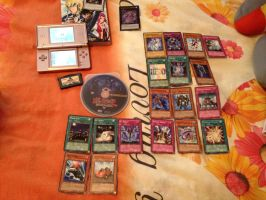 My YGO Collection by PartyRockingPikachu