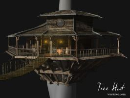 Tree Hut: Perspective by A-Creative-Casualty