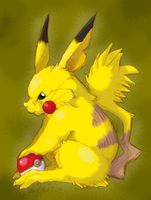 Pikachu by G-manluver