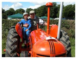 Thornton Dale Show Red Tractor by jonnymorris